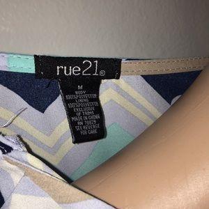 Rue21 Dresses - Chevron Rue21 Dress